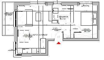 Rzut mieszkania: 3.A.19