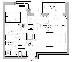Rzut mieszkania: 3.C.107