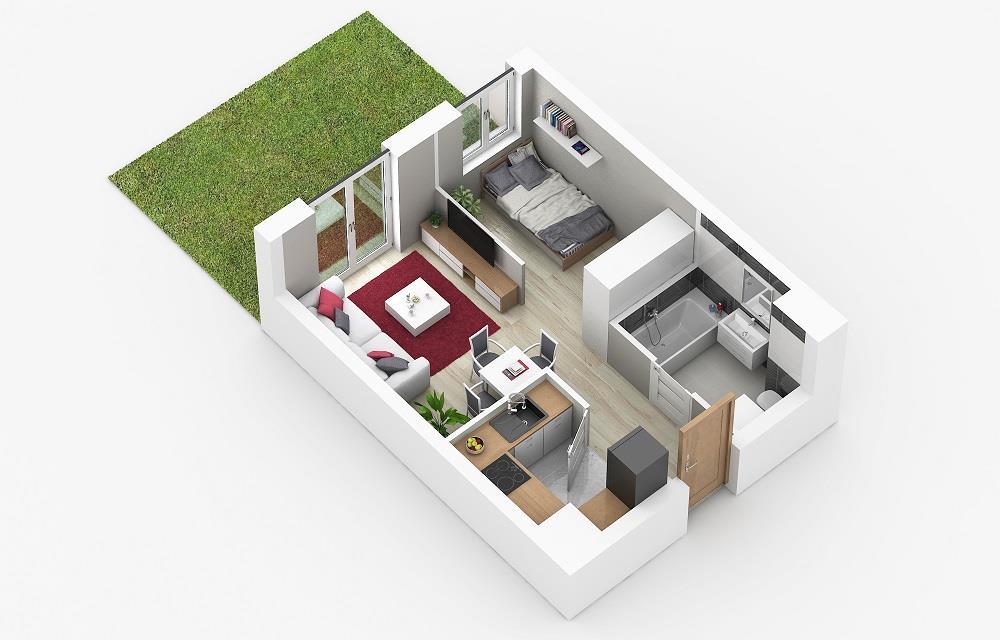 Rzut mieszkania: 0.C.79